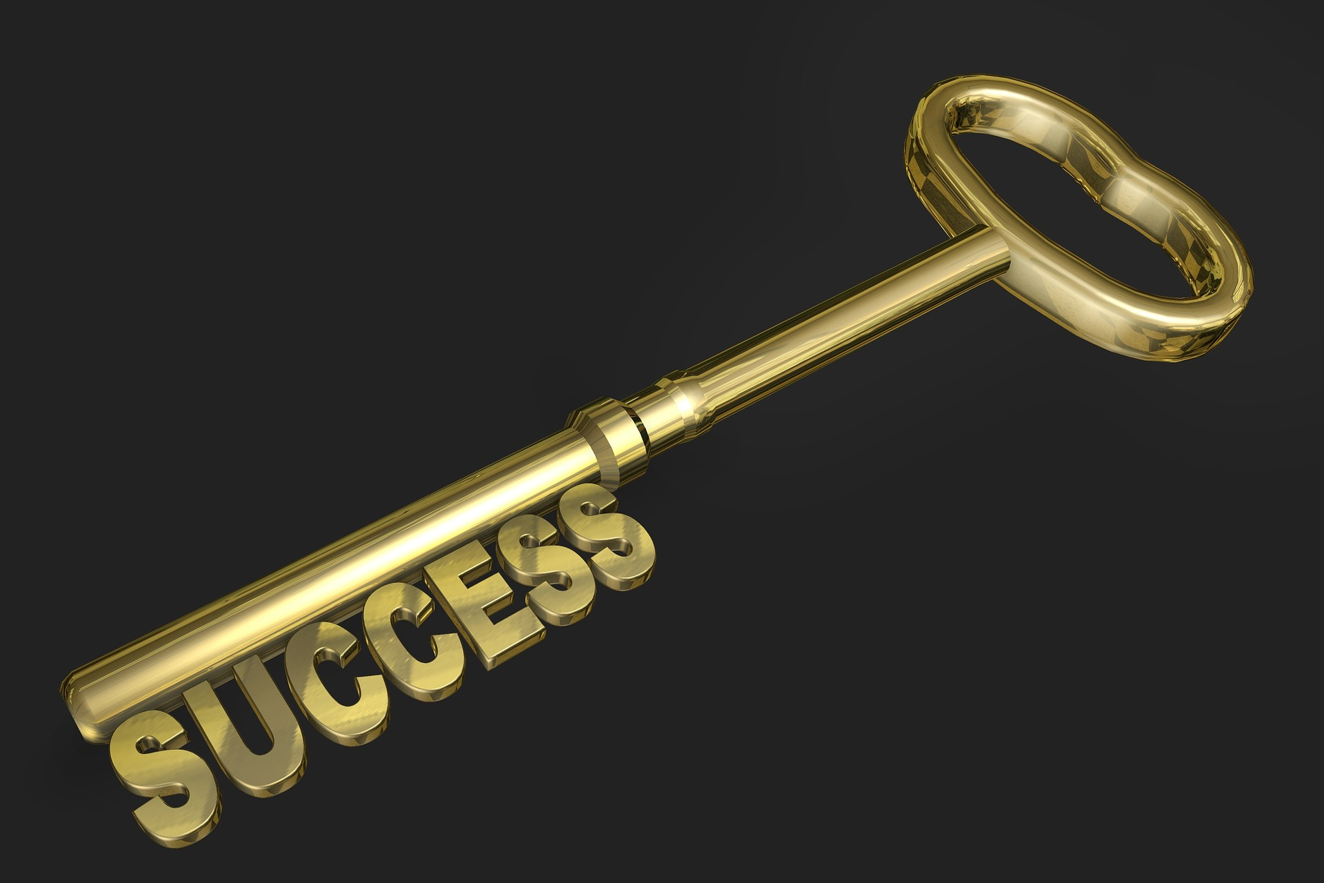 Gold success key